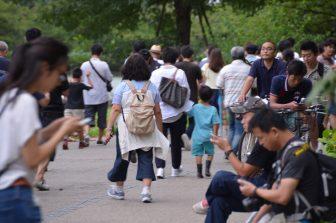 Tokyo – Ueno, people, Aug.2016