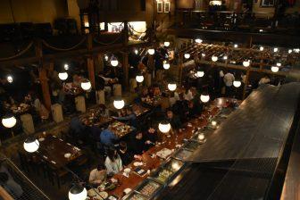 at the restaurant in Minami Azabu in Tokyo