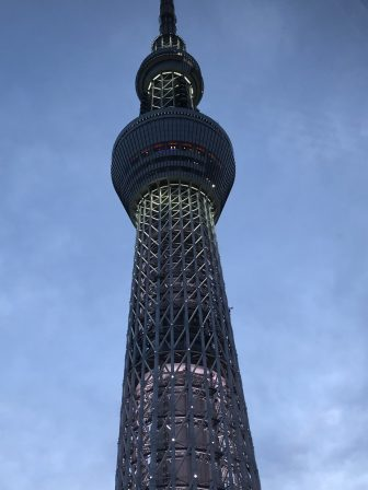 Japan-Tokyo-Tokyo Sky Tree-from the restaurant