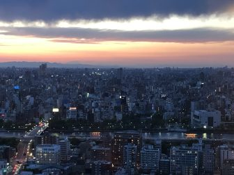 Japan-Tokyo-Tokyo Sky Tree-Solamachi-view-after sunset