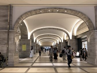 Japan-Tokyo-Midtown Hibiya-the first floor on the basement