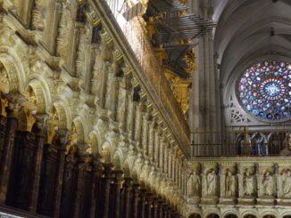Fantastica cattedrale a Toledo