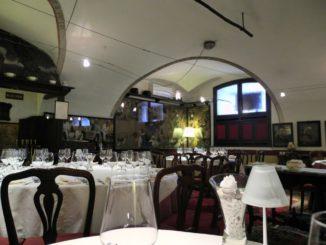 Very atmospheric restaurant