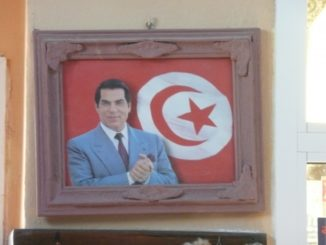 Tunisia, Tozeur – on the wall, Dec.2008