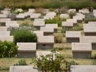 Gallipoli, where a lot of lives were lost