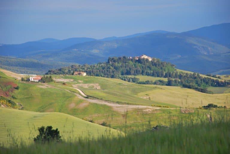 Panorama a Volterra