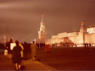 Moscow – Red Square in the night, april 1980
