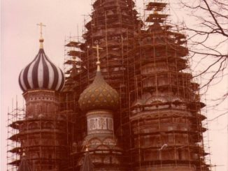 Moscow – St. Basil's Cathedral, april 1980