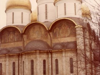 Moscow – a church, april 1980