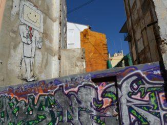 town – graffiti, Feb.2016