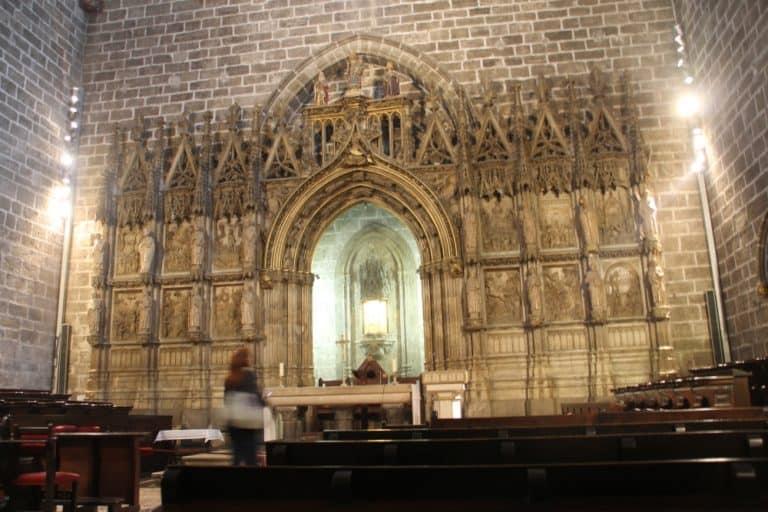 大聖堂―煉瓦の壁 2016年2月 (バレンシア)