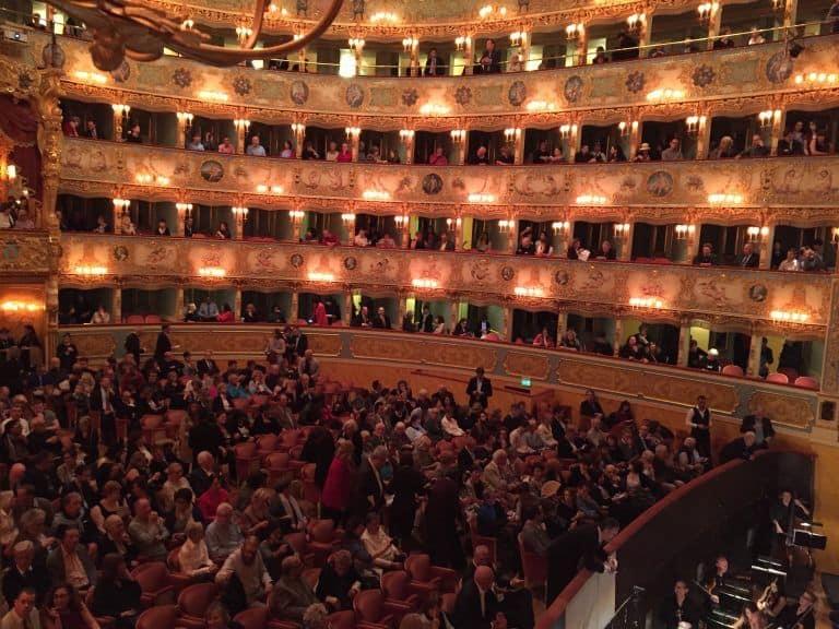 """La Carmen al teatro """" La Fenice"""""""