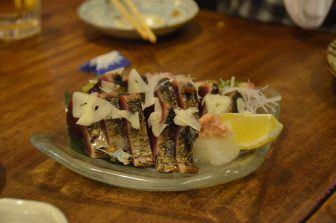 Yanaka Hyotan-Ike restaurant – bonito, Apr.2017