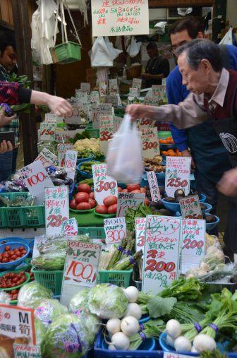 Yanaka – greengrocery, Apr.2017
