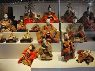 Unexpectedly, Japanese dolls