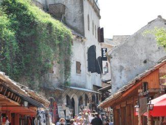 Mostar is the tourist destination