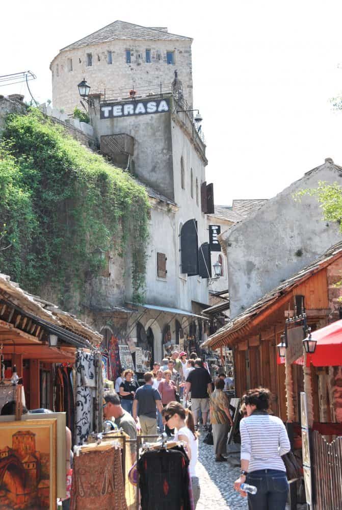 Mostar is the tourist destination