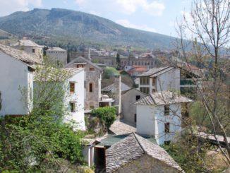 Mostar – houses, Apr. 2009
