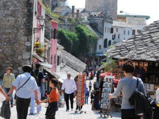 Mostar – slope, Apr. 2009