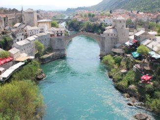 Mostar – river, Apr. 2009