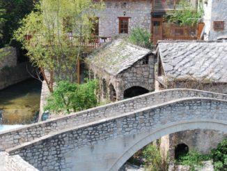 Mostar – small bridge, Apr. 2009