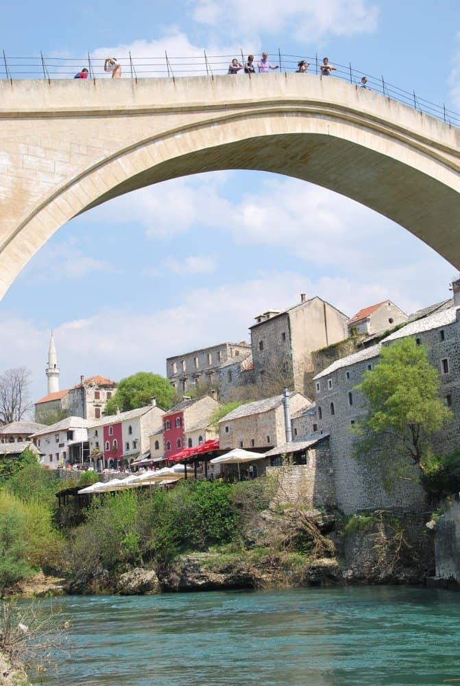 The reconstructed bridge