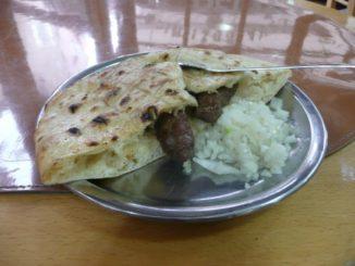 Cevapi, a very nice and cheap dish