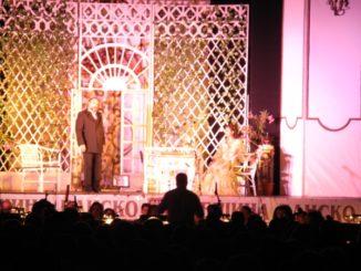 Open air opera concert