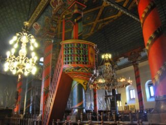 Bulgaria, Bansko – inside the church, 2011