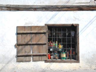 Bulgaria, Bansko – a window, 2011