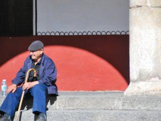 Bulgaria, Rila – a resting man, 2011