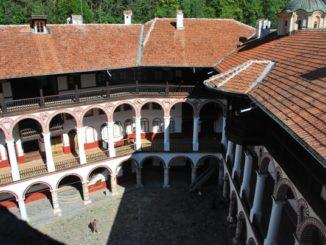 Bulgaria, Rila – courtyard, 2011