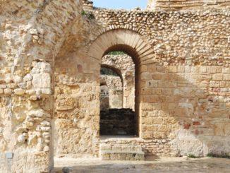 Ben Ali next to Carthage