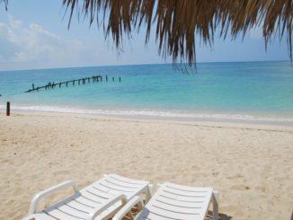 Cuba, Playa Ancon – beach, spring 2010