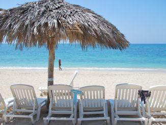 Cuba, Playa Ancon – chairs, spring 2010