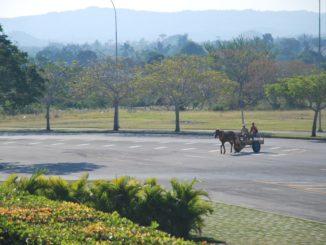 Cuba, Santa Clara – carriage, spring 2010
