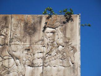Cuba, Santa Clara – monument, spring 2010