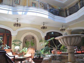 Cuba, Trinidad – inside hotel, spring 2010