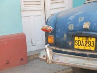 Cuba, Trinidad – old car, spring 2010