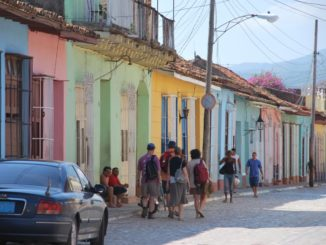 Cuba, Trinidad – colourful houses, spring 2010