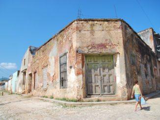 Cuba, Trinidad – corner, spring 2010