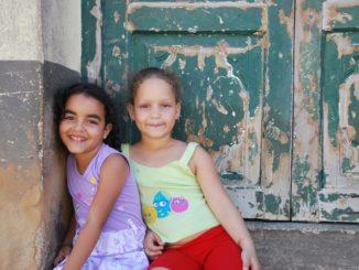 Cuba, Trinidad – girls, spring 2010