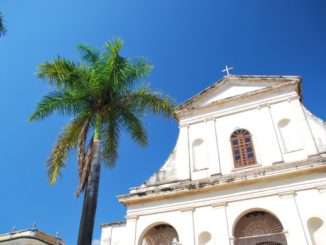 Cuba, Trinidad – church, spring 2010