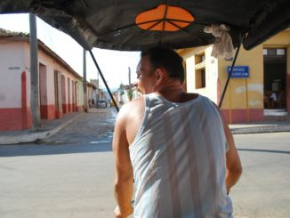 Cuba, Trinidad – rickshaw driver, spring 2010
