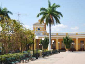 Cuba, Trinidad – square, spring 2010