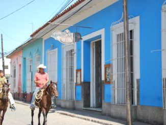 Cuba, Trinidad – interno dell'hotel, primavera 2010