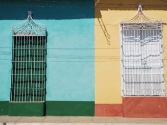 Cuba, Trinidad – yellow and green, spring 2010
