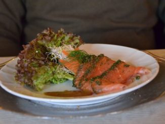 The salmon in Denmark is excellent
