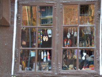 Denmark, Odense – antique shop, August 2012