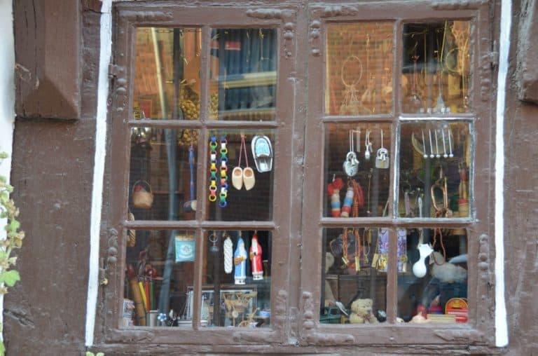 Un famoso negozio di antiquariato ad Odense